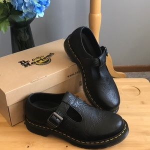 Dr. Martens Polley Emboss MaryJane shoe new in box